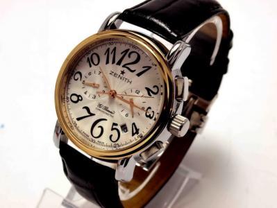 советские золотые женские часы чайка